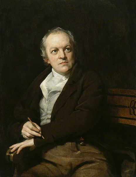 Portrait of William Blake by Thomas Phillips